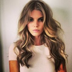 This is a cross between honey blonde and ash blonde hair color.