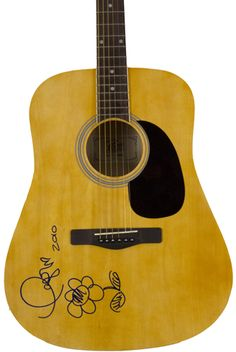 Taylor Swift autographed acoustic guitar - Wine On The Roof 2013 -- All proceeds benefitting the East Lake Pet Orphanage (ELPO)