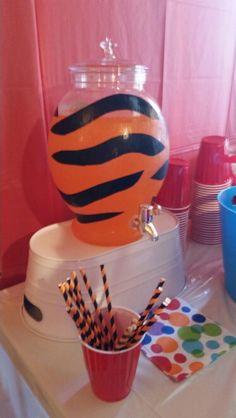 35573308dd Tiger juice. Black duck tape and orange Hawaiian Punch. Owl Food