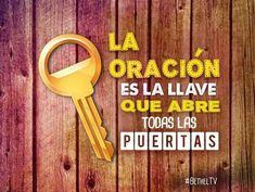 La oración es la llave