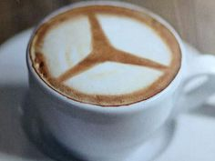 Image may contain: coffee, coffee cup and drink Linux, Mercedes Logo, Coffee Cups, Coffee Coffee, Something Beautiful, New Model, Latte, Tableware, Brochures