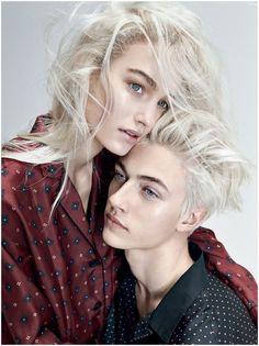 Bulanık Hatları: Vogue Highlights Androgynous modası