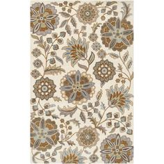 Art of Knot Loxley Wool Area Rug, Beige