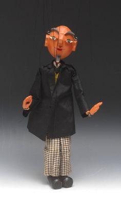Lot 28 - SS Proffessor Bookworm - very rare, Pelham Puppets SS Range,