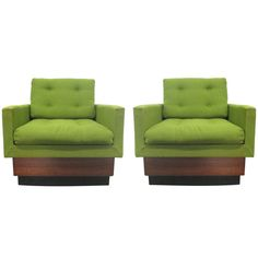 Pair of Adrian Pearsall Chairs for Craft Associates   From a unique collection of antique and modern lounge chairs at https://www.1stdibs.com/furniture/seating/lounge-chairs/