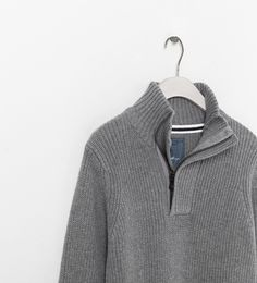 BASIC SWEATER - Cardigans and sweaters - Boy (2 - 14 years) - Kids | ZARA United Kingdom