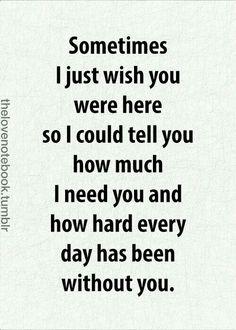 Especially today... More