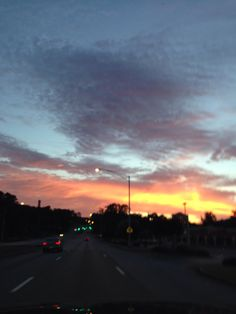 Morning sky on the way to walk. 7/17/14 Marcia Mouron