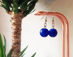 #Etsy #Giftidea #Christmas #Handmade #Oriental #Bohemian #Jewels #Earrings #Fashion #blue