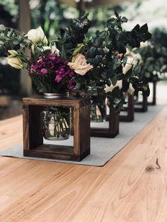 Rustikale Vasenaufsätze aus Holz, Dekor auf der Hochzeitsinsel, Partydekorationen oder ...,  #dekor #hochzeitsinsel #partydekorationen #rustikale #vasenaufsatze