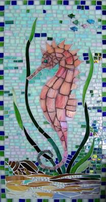 seahorse stained glass pattern - Google Search