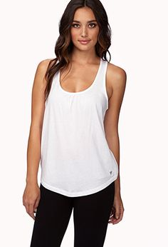 Knotted Back Workout Tank | FOREVER21 - 2060415631