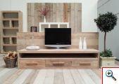 tv meubel van steigerhout domingas 2