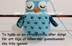 Skapa och Inreda: Mönster på barnvagnsmobil med ugglor Crochet Patterns, Crochet Hats, War, Drawings, Inspiration, Design, Amigurumi Patterns, Tricot, Knitting Hats