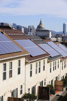 Solar panel installation at Hayes Valley in San Francisco, California.     Visit  http://theenergysolar.com  and you can get a free report how green energy can help us!