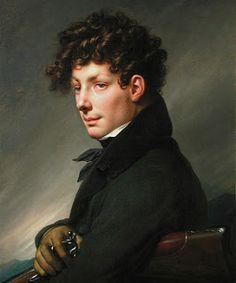 Southern Folk Artist & Antiques Dealer/Collector: One of my favorite artist, Anne Louis Girodet de Roussy-Trioson