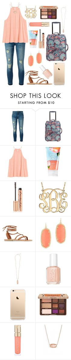 """""""Packing for Camp!✌️"""" by nhumphrey ❤ liked on Polyvore featuring MICHAEL Michael Kors, Vera Bradley, Charlotte Tilbury, Valia Gabriel, Kendra Scott, Essie, Too Faced Cosmetics and Smith & Cult"""
