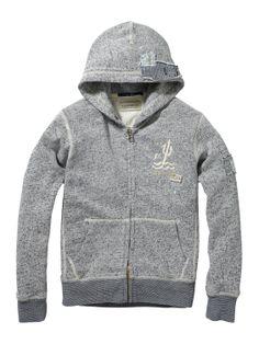 0e5b3232851d Hooded zip-through Sweater