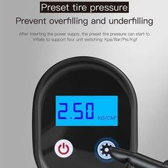 The Miniature Pump That Solves An Immense ProblemGetting a flat tire on the road is a major driving inconvenience and it can also be a terrifying experience, so getting a reliable working inflator is a must-have for any car owner! Pressure Units, Rv Tires, Portable Air Pump, Metal Cylinder, Motorcycle Tires, Automatic Cars, Pressure Canning, Flat Tire, Pumps