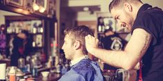 The original approach of the Lion's Barber Collective charity has got men talking and opening up about their struggles with depresson Health Questions, Barbers, Mental Health, Depression, Healthy Living, Novels, Meet, Wellness, This Or That Questions