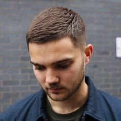 Crew Cut hairstyles are hugely glossy in style and are a very Smooth haircut for fine zone. The sides of the head are roughly completely shaven