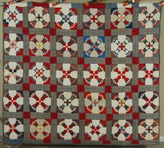 "DAZZLING Vintage 1890's ""Wheel of Time"" VIBRANT Antique Fabrics ~RARE DESIGN! | Antiques, Linens & Textiles (Pre-1930), Quilts | eBay!"