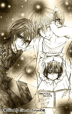 kaname x zero AU] i just can't give up 1 by jungjaehe on DeviantArt