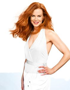 Nicole Kidman... she looks better with red hair :)