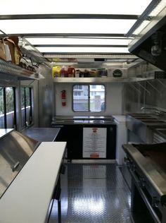 Diy food truck interior 15 Ideas for 2019 Food Truck Interior, Trailer Interior, Foodtrucks Ideas, Food Truck Design, Food Design, Taquero, Mobile Food Trucks, Food Truck Business, Best Food Trucks