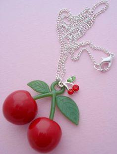 Very Cherry Necklace