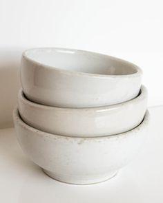 Ironstone bowls . . .
