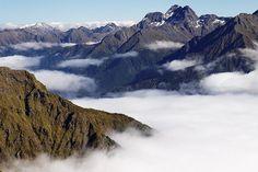 .New Zealand mountains