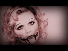 Sanni Sorna's 'The Gore Gatsby' - Halloween makeup tutorial for a Chelsea smile...