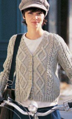 Knit Cardigans   AllFreeKnitting.com