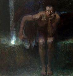 Franz von Stuck - Lucifer (1890)
