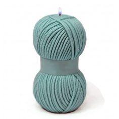 Molde para hacer velas Ovillo de Lana. Molde de silicona, ideal para tus detalles de invierno. DIY. Disponible en Gran Velada.