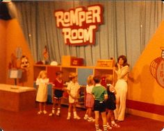 1970's Romper Room. I vaguely remember watching this.