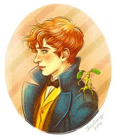 Newt Scamander by ChrisBexiga on DeviantArt