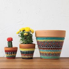 Free Knitting patterns for Plant download