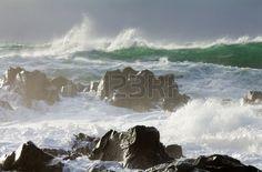 big ocean storm ( Commander Islands )