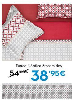 Funda Nòrdica Stream. Funda Nòrdica Trama. Rebajas en www.lamallorquina.es