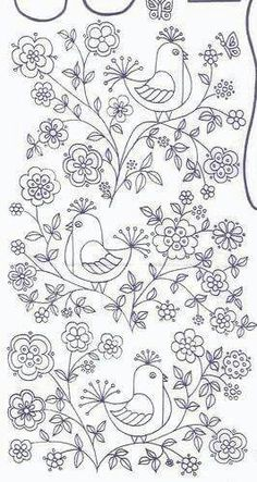 Embroidery Patterns For Kameez for Free Machine Embroidery Patterns For Beginners once Handmade Embroidery Designs For Sarees Embroidery Transfers, Crewel Embroidery, Hand Embroidery Patterns, Embroidery Applique, Cross Stitch Embroidery, Machine Embroidery, Embroidery Designs, Flower Embroidery, Embroidery Thread