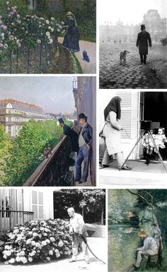 Caillebotte - Jacquemart André Martial, Muse, Polaroid Film, Radiation Exposure, Impressionism, Photography, Paint