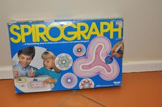 1980's Spirograph...I totally had one of these!! It was sooo hard to use!