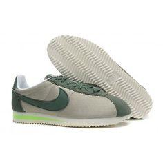 Køligt Nike Cortez V1 Mørkgrøn Beige Dame Skobutik | Fantastisk Nike Cortez V1 Skobutik | Nike Skobutik Billige | denmarksko.com