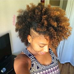 49 Best Natural Hair Shaved Sides Images In 2016 Curls Natural