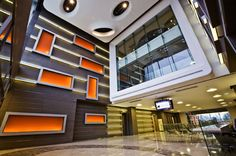 Panelite Bonded Series translucent honeycomb panels   Produced by Bencore Italy for Panelite's exclusive US distribution. B-ECOS  Acibadem Hospital, Istanbul, Turkey