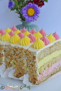 Sweets Recipes, Cookie Recipes, Romanian Desserts, Dessert Drinks, Vanilla Cake, Fondant, Sweet Treats, Ice Cream, Food And Drink