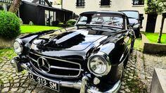 What a beautiful car! Mercedes Benz 190 SL. For all your Mercedes Benz 190SL restoration needs please visit us http://www.bruceadams190sl.com/