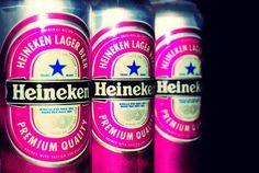Pink Heineken YES please